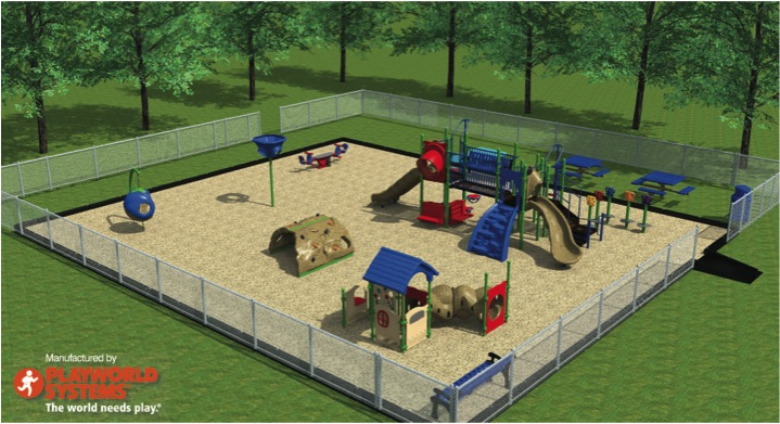 Click for more Information about our NEW Playground